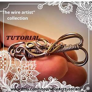 Wire Wrapping Tutorial Step By Step Guide Book Ebook  Wire