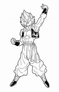 Facile Dragon Ball Broly Super Sayian Legendaire Coloriage ...