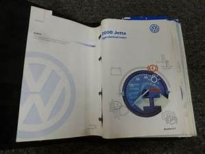 2000 Volkswagen Jetta Owner Operator Manual User Guide Gl
