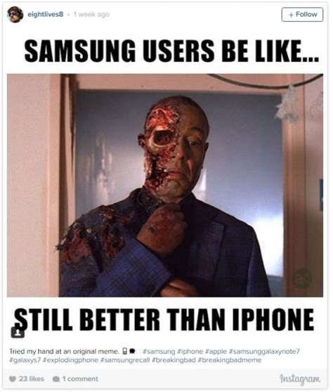 Galaxy Note Meme - funny reactions to the exploding samsung galaxy note 7