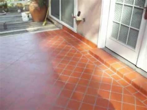 Kitchen Ceramic Tile Ideas - tile installation patio floor quarry tile 6x6 youtube