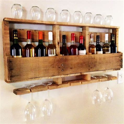 diy project beautiful wine rack     wood
