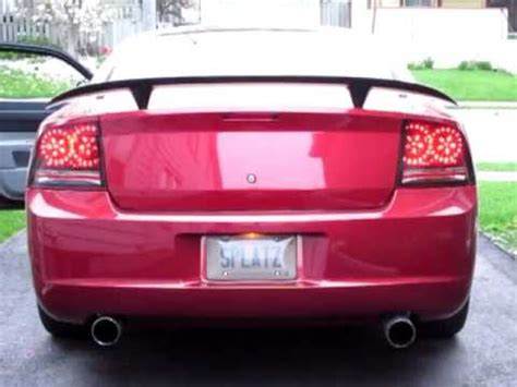 2007 dodge charger tail lights dodge charger sequential tail lights youtube