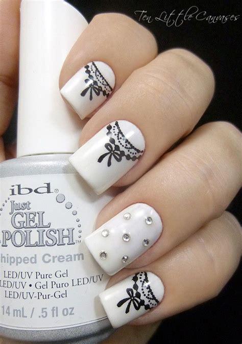 and white nail designs 55 black and white nail designs nenuno creative
