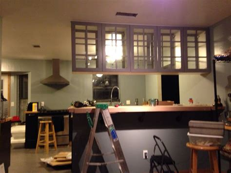 hanging kitchen cabinets from ceiling ceiling mounted cabinets with doors on both sides ikea 6988