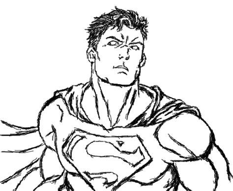 superman desenho de johnlfsilver gartic