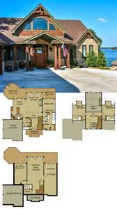 surprisingly mountain home plans with a view rustic mountain house floor plan with walkout basement