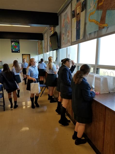 catholic schools day service st gregory great academy