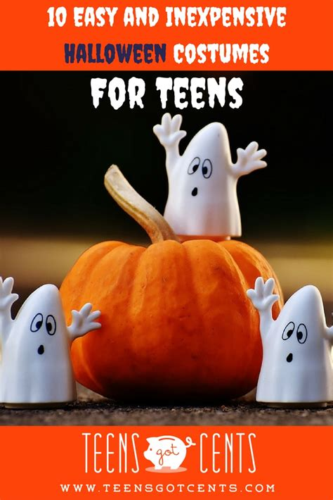 Things To Do On Halloween At Home by Easy Halloween Costumes 10 Last Minute Ideas Teensgotcents
