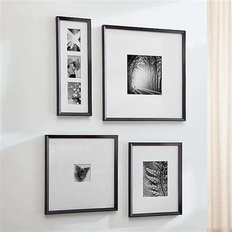 Icon Black Wall Frames | Crate and Barrel