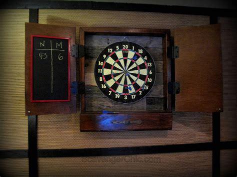 dart board cabinet dartboard cabinet diy scavenger chic