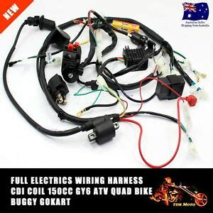 Buggy Wiring Harness Loom Chinese Electric Start