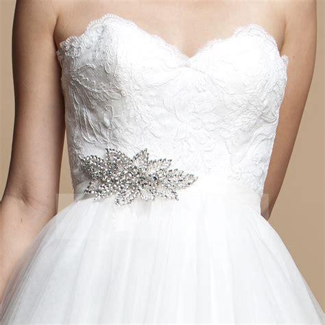 bridesmaid sashes bridal sash rhinestone wedding belt white satin ribbon lunss couture