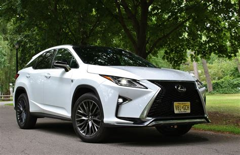 Quick Spin 2016 Lexus Rx 350 F Sport  Limited Slip Blog