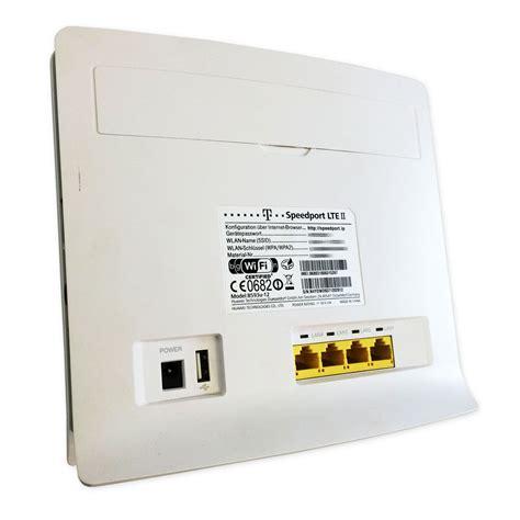 telekom speedport router telekom speedport lte ii 2 4g router wireless huawei b593u12 gute zustand 4025125528259 ebay