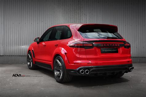 red porsche red porsche cayenne adv6 m v2 sl wheels brushed