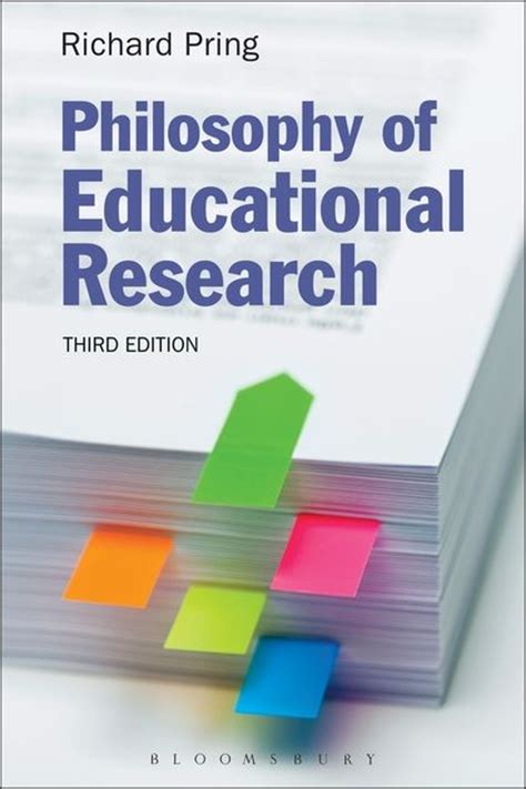 philosophy  educational research richard pring