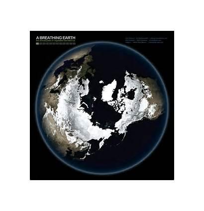 Earth Breathing Space Seen Heartbeat Breathe Gifs