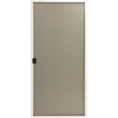 lowes reliabilt white aluminum retro patio screen door