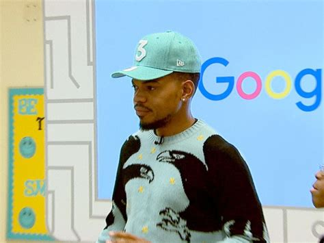 Chance The Rapper Shares Technology, Coding Advice With