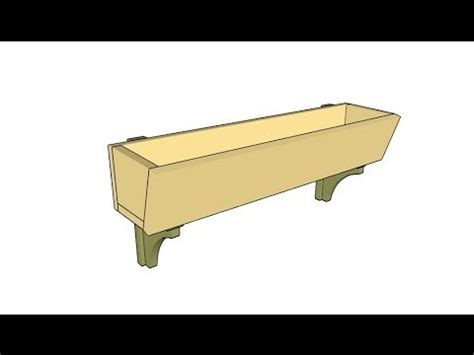 window box plans youtube