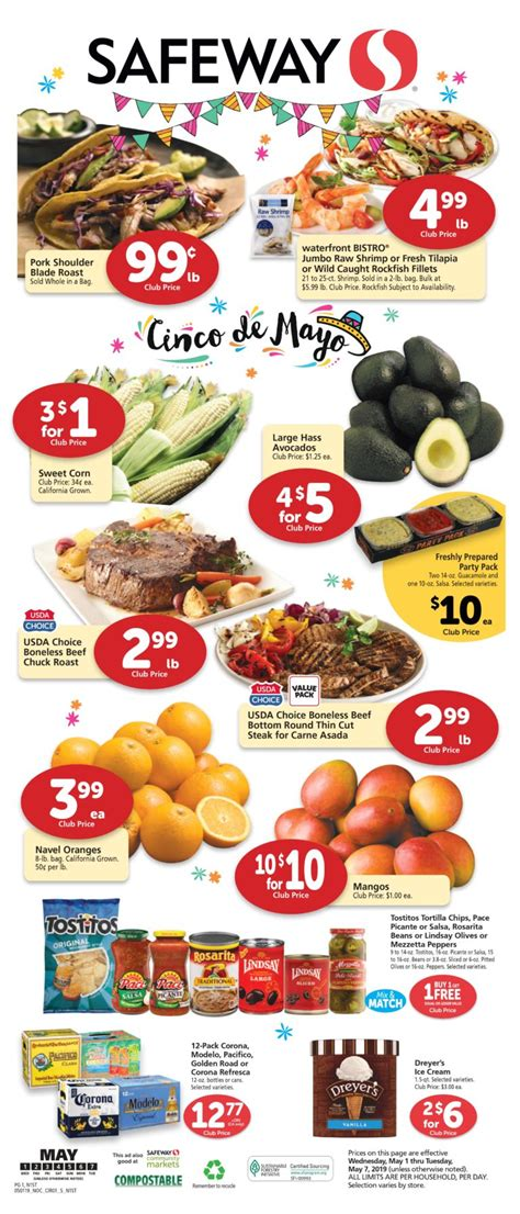 Permalink to Safeway Sale Flyer