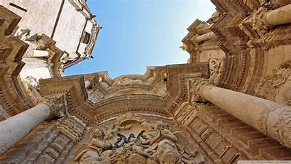 Italy Architecture Wallpapers Valencia Cathedral Ancient Historic