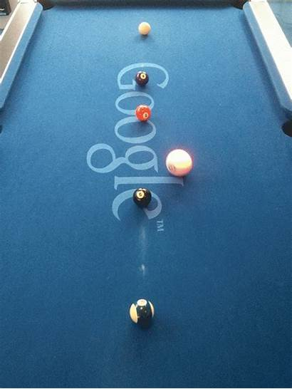 Google Pool Manager Ball Animated Cue Tag
