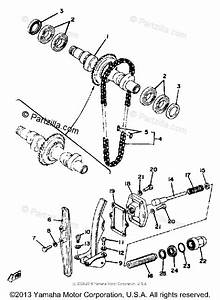 Yamaha Motorcycle 1980 Oem Parts Diagram For Camshaft
