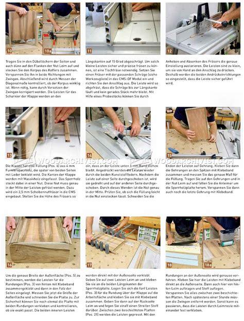 diy wooden attache case woodarchivist