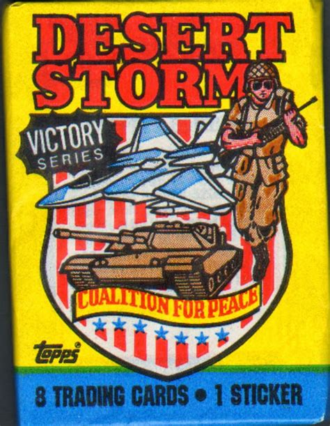 1998 r & n china co. A Pack To Be Named Later: 1991 Topps Desert Storm 2nd Series (Victory Series)