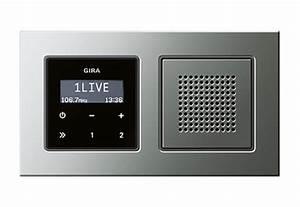 Gira Unterputz Radio Rds : e22 unterputz radio rds von gira stylepark ~ A.2002-acura-tl-radio.info Haus und Dekorationen