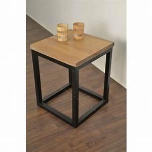 Petite Table En Bois : petite table basse bois table de lit ~ Teatrodelosmanantiales.com Idées de Décoration