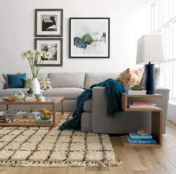 2 Piece Sectional With Chaise Lounge by Crate And Barrel Living