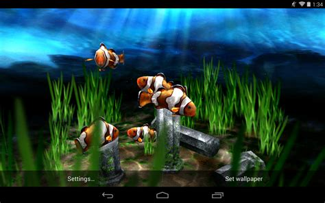 3d Animated Live Wallpaper - free live moving fish wallpaper wallpapersafari