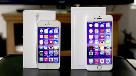 compare iphone 5 and 6 iphone 5 vs iphone 6 comparison