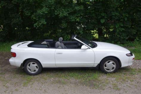 buy   toyota celica gt convertible  door