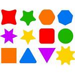Shape Icons Shapes Icon Colourful Clip Clipart