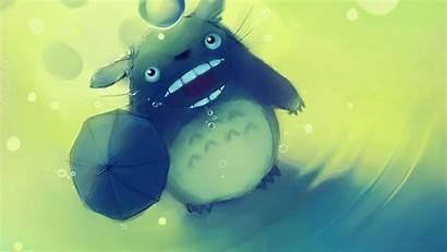 Totoro Ghibli Neighbor Studio Anime Apofiss Background