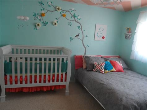 diy pinterest inspired nursery shared guest room