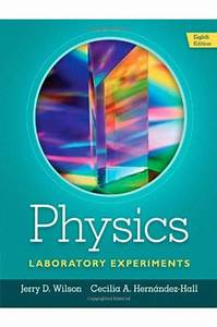 Solutions Manual For Physics Laboratory Experiments 8th