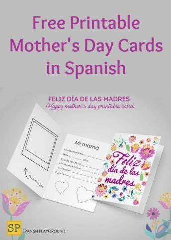 mothers day archives spanish playground