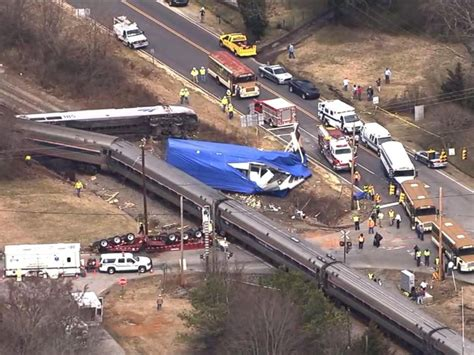 Amtrak Train Derails In North Carolina After Hitting