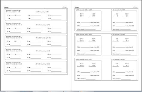 Order Of Operations Worksheets For 3Rd Graders