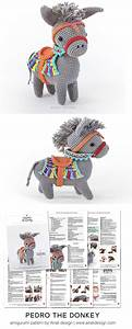 Pedro The Amigurumi Donkey