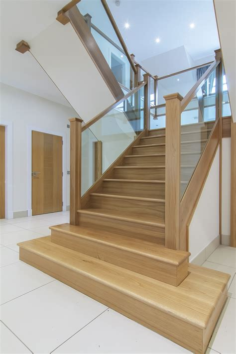 oak step bespoke staircase design stair manufacture and