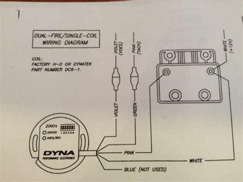 dyna  ignition wiring diagram harley