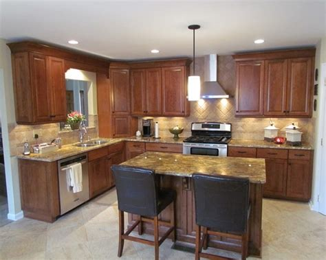 L Shaped Kitchen Designs With Island Pictures ? SMITH