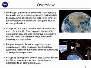 NASA FY 2014 Budget Estimate Presentation