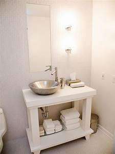 photo page hgtv With tips to make beautiful small bathroom vanity